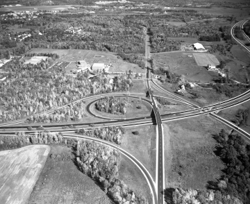 Aerial View: Towards Kennedy Drive