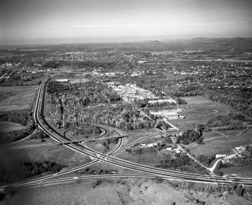 Aerial View Near Kennedy Drive