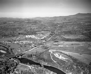 Aerial View: Richmond Exit