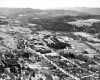Aerial of Northfield and Norwich University