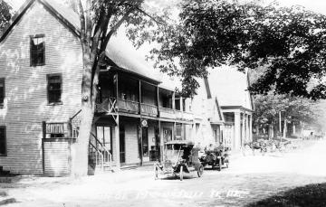 A View of Main Street in McIndoe Falls