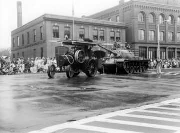 150th Anniversary Parade for Fairbanks: Steam Tractor