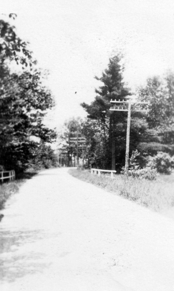 A Country Road in Danville