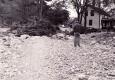 A Destroyed Foundation after 1938 Flood