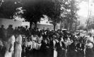 A large crowd in McIndoe