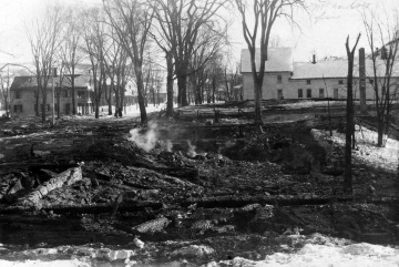 1923 Fire in McIndoe Falls