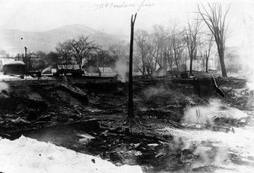 1923 Fire in McIndoe