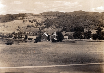 Walter M. Phelps farm -- looking east