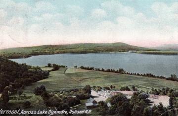 Across Lake Dunmore, Rutland R.R.