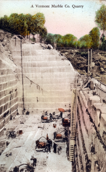 A Vermont Marble Co. Quarry