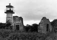 Abandoned lighthouse on Juniper Island