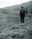 A Solemn Man in a Field