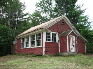 Re-shot of the St. George Red School House