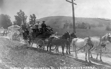 1913 Anniversary Parade in Williston - Stagecoach