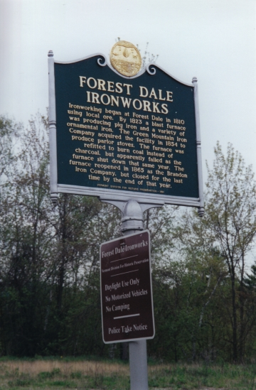 Forest Dale Ironworks
