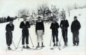 1932-33 WINTER SKIERS at Middlebury College.