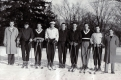 1942-43 WINTER SKIERS at Middlebury College.