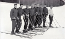1955-56 VARSITY SKI TEAM at Middlebury College.
