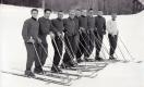 1955-56 VARSITY SKI TEAM at Middlebury College.