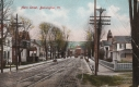 1909 Postcard of Main Street in Bennington