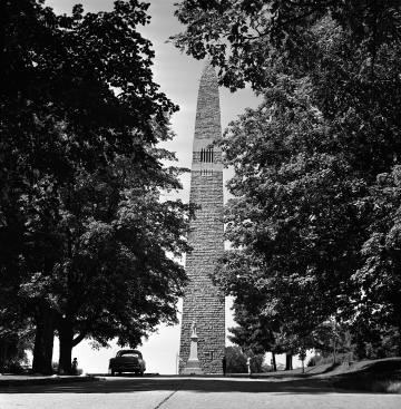 A View of the Battle Monument