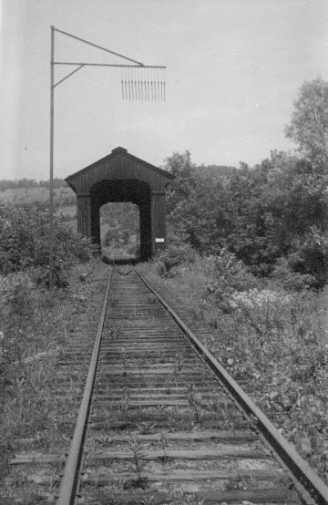 Montpelier-Barre railroad track