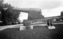 Cannon at Bennington Monument site