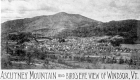 Ascutney Mountain and View of Windsor VT