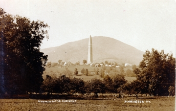 A view of the Bennington Battle Monument