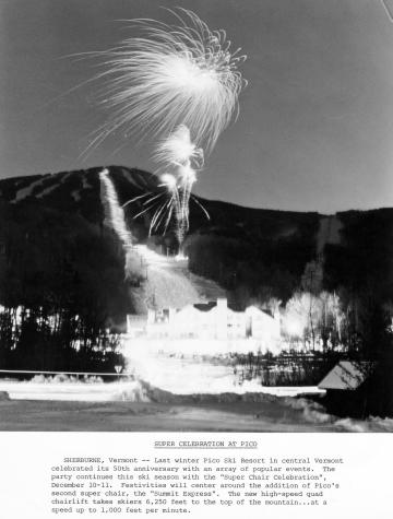 50th Anniversary Celebration at Pico Ski Resort
