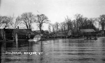 A Send-Off at Shelburne Harbor