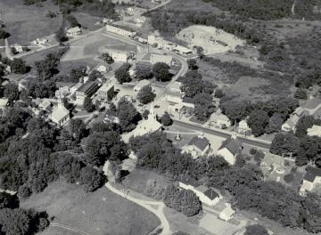 Aerial of Williamstown