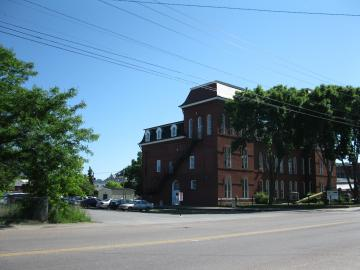 Re-shot of C.V.R.R. Station at St. Albans