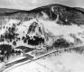 Aerial Of Ski Mountain