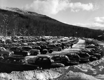 Mt. Mansfield Parking Lot