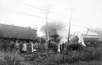 Train Wreck at Bennington