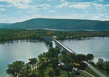 Aerial View of Lake Champlain