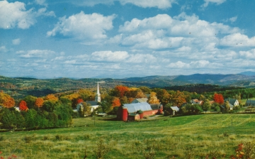 Autumn in Peacham Vermont