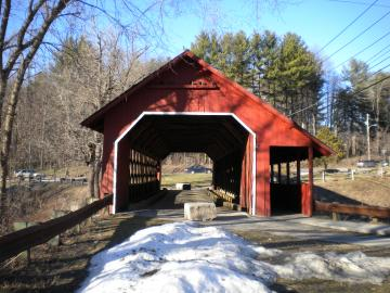 Creamery Covered Bridge, Brattleboro
