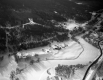 Aerial View of Frozen Winooski River near Middlesex