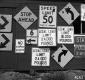 Defaced Traffic Signs