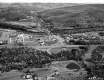 Aerial East View of Brattleboro Route 5 and 9 Intersection