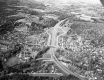 Aerial North View of Brattleboro Interstate 91 Route 9