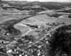 Aerial East View Morrisville Copley Building Closeup