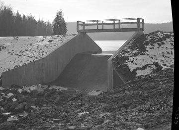 Chandler Pond Dam Bridge Centered