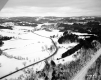 Aerial View Hartland Railroad Tracks Bottom Right