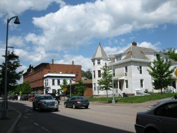 Re-shot of East Allen Street and Winooski Block