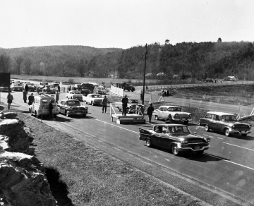 Opening Ceremony for I-91 in Brattleboro