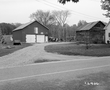 Adams Property, Barn and Garage