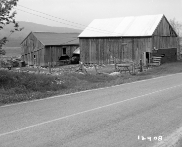 Adams Property, Barns